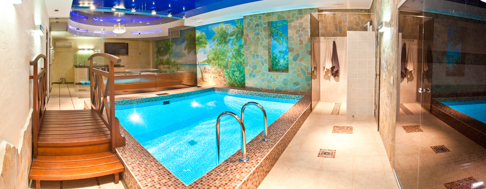 Баня с теплым бассейном пермь